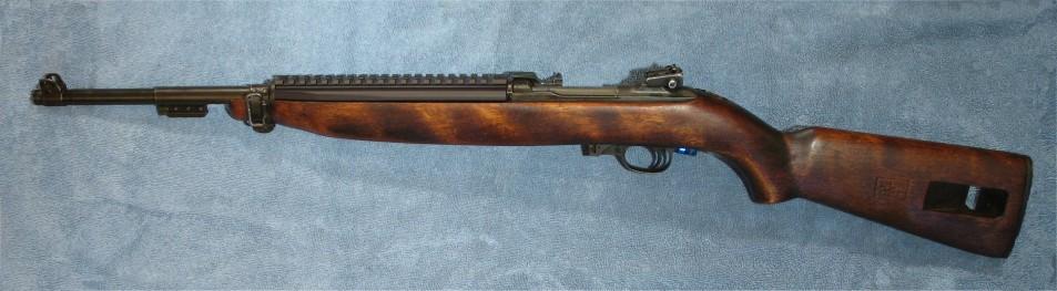 M1 carbine with a rail - Calguns net